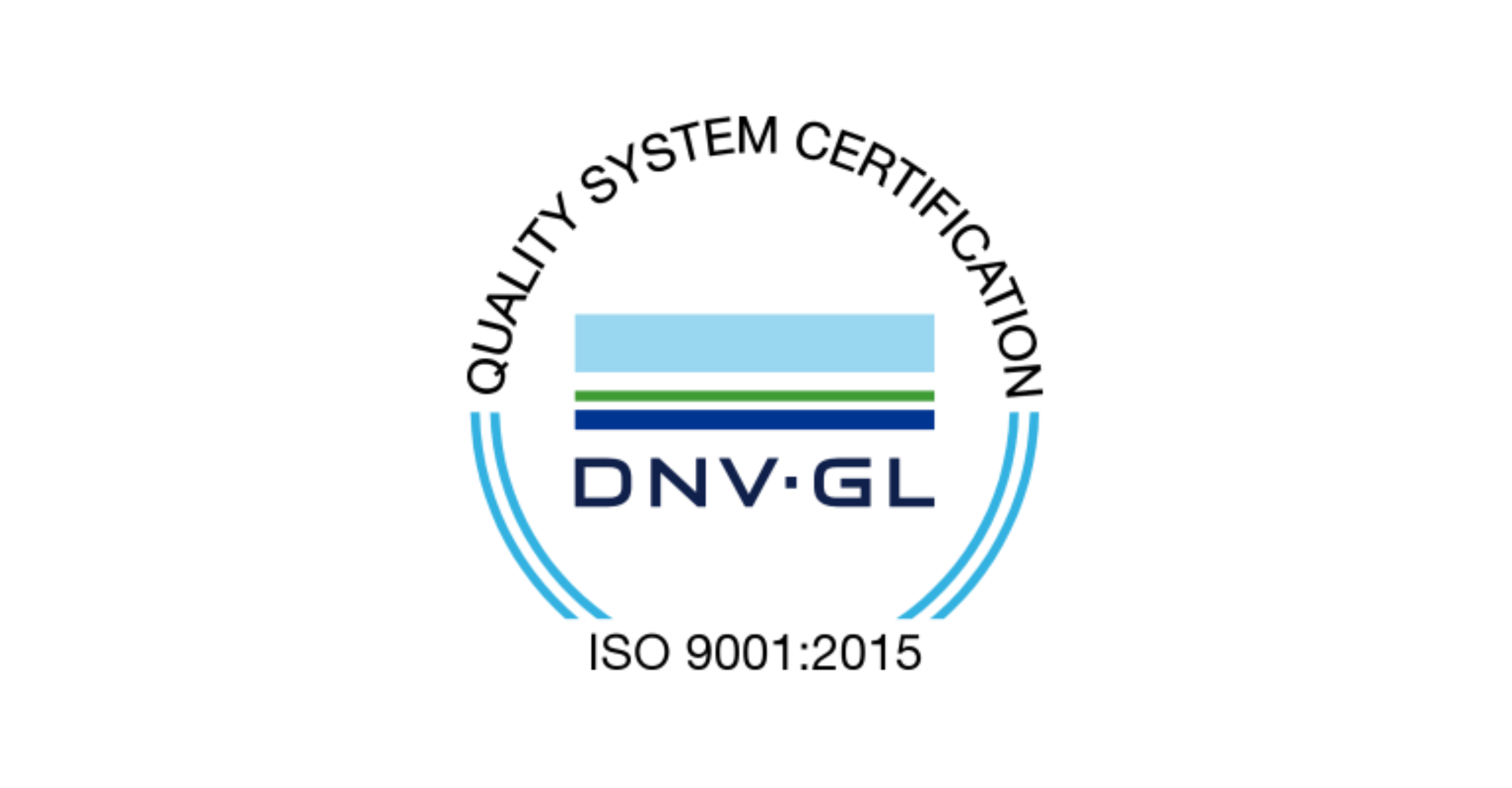 Quality System Certification - ISO 9001:2015